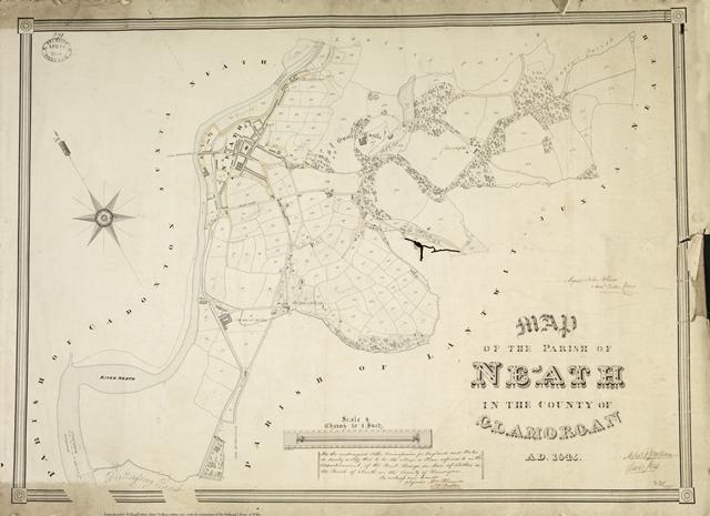 Map of Neath