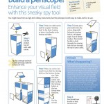 Do-it-yourself science projects: Make a periscope