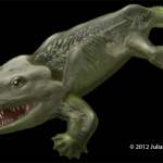 Ancient creature brought back to life with 3D model