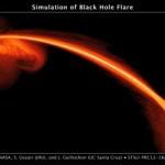Black hole caught committing murder