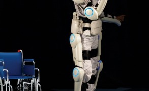 Hybrid Assistive Limb. Image: Professor Sankai, University of Tsukuba/Cyberdine